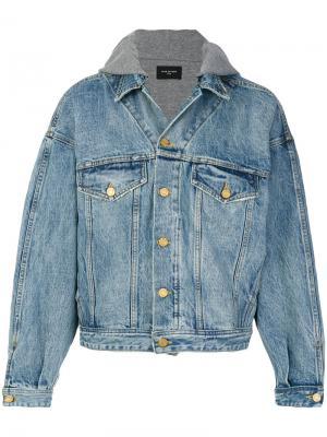 Oversized denim jacket Fear Of God. Цвет: синий
