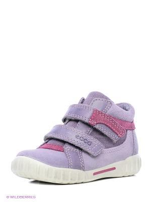 Ботинки ECCO. Цвет: розовый, сиреневый
