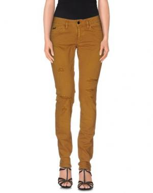 Джинсовые брюки STAFF JEANS & CO.. Цвет: верблюжий