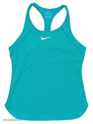 Топ SLAM TANK YTH Nike. Цвет: зеленый