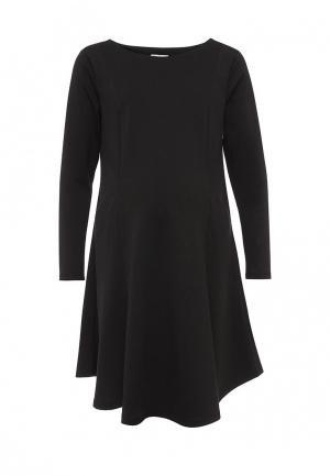 Платье week by. Цвет: черный