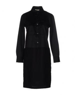 Платье до колена TROU AUX BICHES. Цвет: черный
