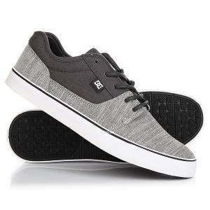Кеды кроссовки низкие DC Tonik Tx Se Charcoal Grey Shoes. Цвет: серый