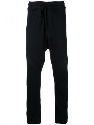 Спортивные брюки Bassike. Цвет: чёрный