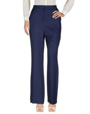 Повседневные брюки NICE THINGS by PALOMA S.. Цвет: темно-синий
