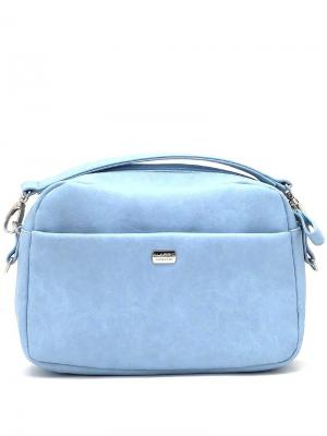 Сумка Solo true bags. Цвет: светло-голубой
