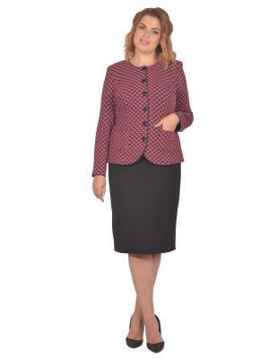 Жакет Томилочка Мода ТМ. Цвет: темно-синий, сиреневый
