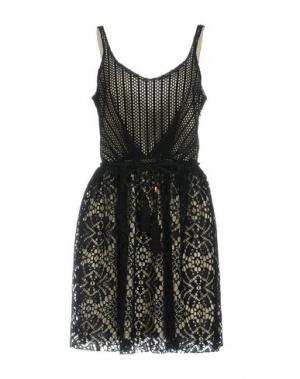 Короткое платье HEIMSTONE. Цвет: черный