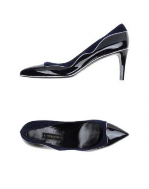Туфли SANDRO VICARI. Цвет: темно-синий