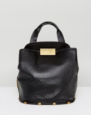 Zac Posen Черная сумка на плечо Blythe. Цвет: черный