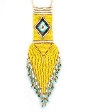 Ожерелье GEORGE J. LOVE. Цвет: желтый