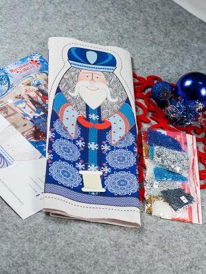 Набор для шитья и вышивания Февраль Матренин Посад. Цвет: синий, бежевый