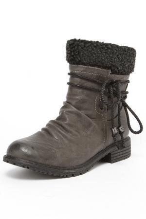 Ботинки Vigorous. Цвет: серый