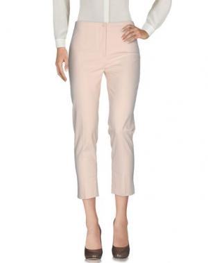 Повседневные брюки AMINA RUBINACCI. Цвет: песочный