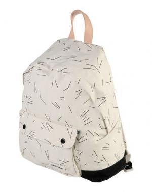 Рюкзаки и сумки на пояс EASTPAK. Цвет: слоновая кость