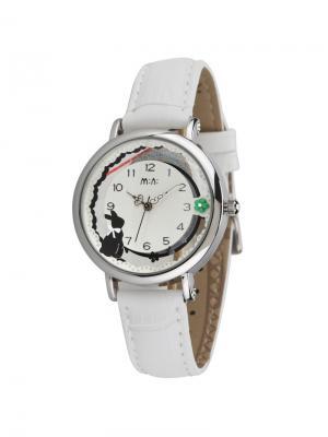 Наручные часы MN2060white Mini.. Цвет: серебристый, белый