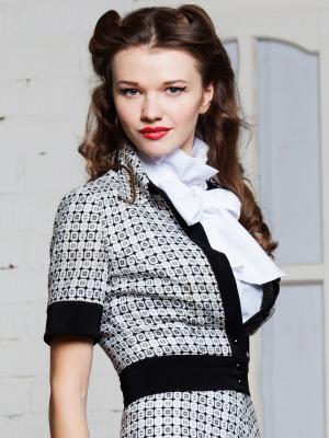 Жакет Ksenia Knyazeva. Цвет: черный, серый