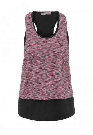 Майка Gym & Soul. Цвет: розовый