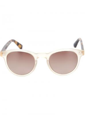 Солнцезащитные очки Frederico Sama Eyewear. Цвет: белый
