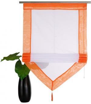 Римская штора Xanten Otto. Цвет: оранжевый