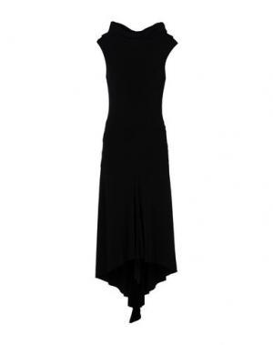 Длинное платье MRESALE. Цвет: черный