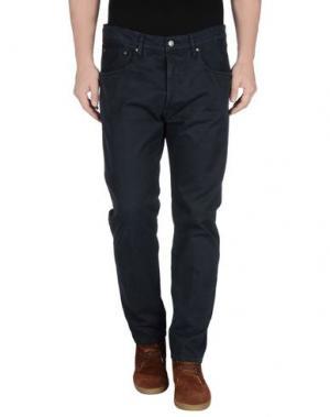 Повседневные брюки (+) PEOPLE. Цвет: темно-синий