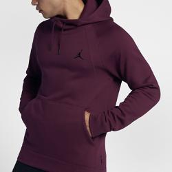 Мужская флисовая худи Jordan Wings Nike. Цвет: пурпурный