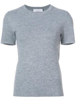Трикотажная футболка Gabriela Hearst. Цвет: серый