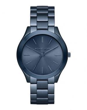 Наручные часы MICHAEL KORS. Цвет: синий