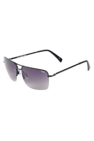 Солнцезащитные очки Legna. Цвет: черный