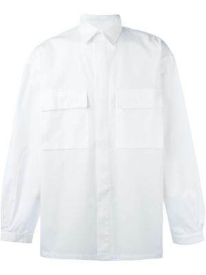 Рубашка Terry E. Tautz. Цвет: белый