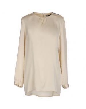 Блузка SLY010. Цвет: бежевый