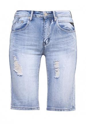 Шорты джинсовые Softy. Цвет: голубой