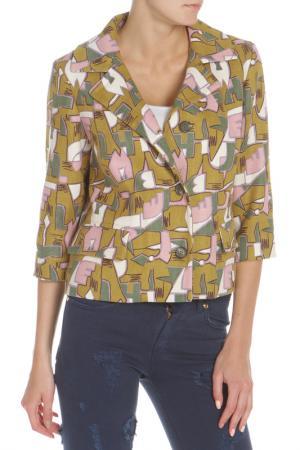 Куртка Marni. Цвет: fr563 желтый,зеленый,розовый