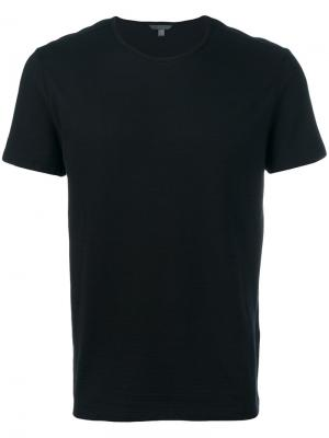 Plain T-shirt John Varvatos. Цвет: чёрный