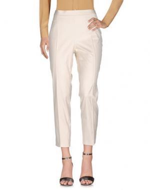 Повседневные брюки AKRIS PUNTO. Цвет: слоновая кость