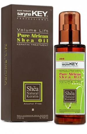 Натуральное Африканское масло Ши для тонких волос Volume Lift Saryna Key. Цвет: бесцветный