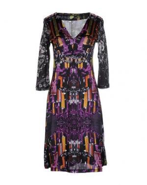 Платье до колена CUSTO BARCELONA. Цвет: черный