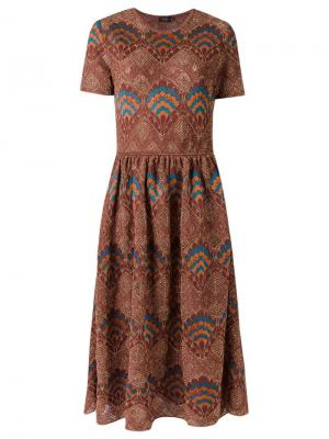 Knit midi dress Gig. Цвет: многоцветный