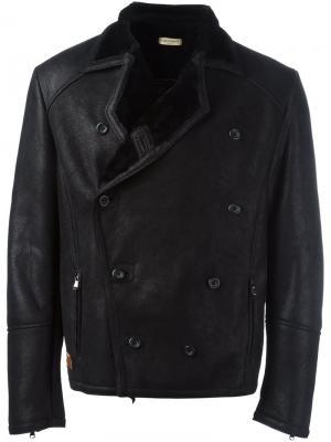 Двубортная куртка Al Duca D'Aosta 1902. Цвет: чёрный