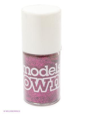 Лак для ногтей, Glitter Magenta Divine Models Own. Цвет: розовый