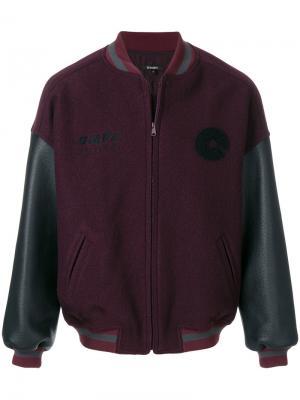 Классическая куртка-бомбер Season 5 Yeezy. Цвет: розовый и фиолетовый
