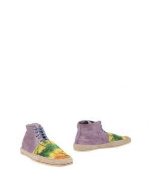 Полусапоги и высокие ботинки FREE MOB. Цвет: желтый