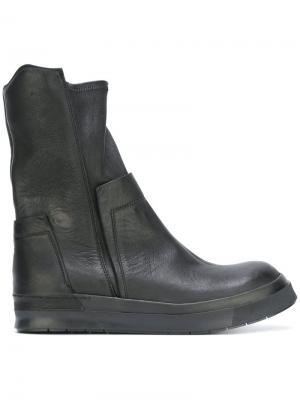 Ботинки-слипон Cinzia Araia. Цвет: чёрный
