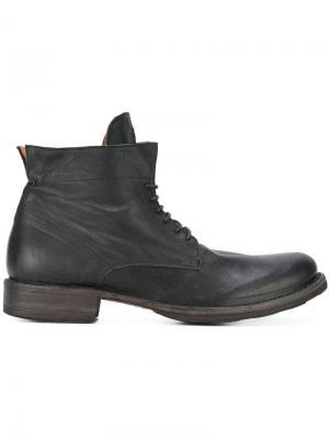 Ботинки Eternity Fiorentini +  Baker. Цвет: чёрный