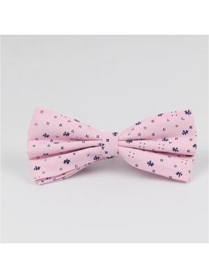 Галстук-бабочка Churchill accessories. Цвет: розовый