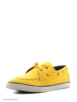 Мокасины 4U. Цвет: желтый