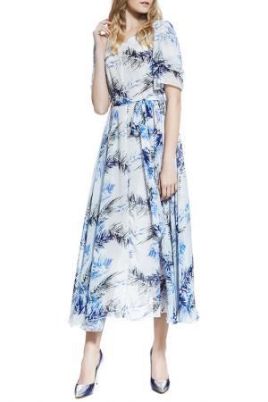 Длинное платье Nothing but Love. Цвет: белый, темно-серый, лазурный