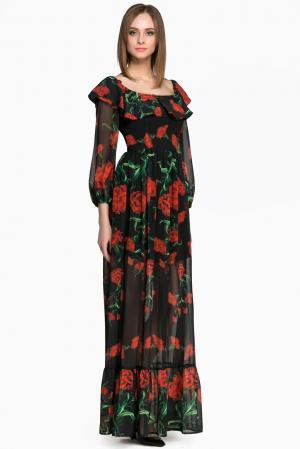 Платье AR1-142837 Babylon. Цвет: разноцветный