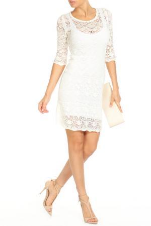 Платье HAPPYCHOICE. Цвет: бежевый
